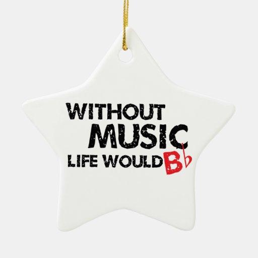 Sin música, la vida B plano Ornamentos Para Reyes Magos