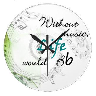 sin música, la vida Bb Relojes