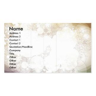 Sin título, nombre, dirección 1, dirección 2, cont tarjeta de visita