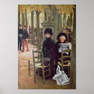 Sin una dote, 1883-5 póster