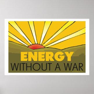 . Sin una guerra solar Póster
