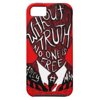 Sin verdad, nadie está libre iPhone 5 cárcasa