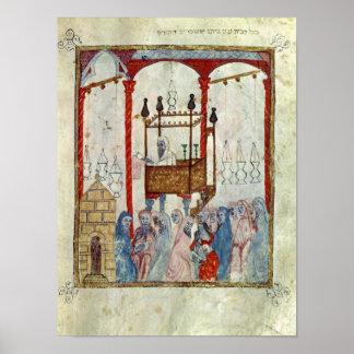 Sinagoga c 1350 España septentrional Impresiones