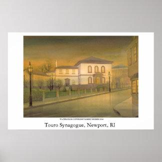 Sinagoga de Touro Posters