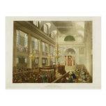 Sinagoga, duques Place, Houndsditch, de Ackerman Tarjeta Postal