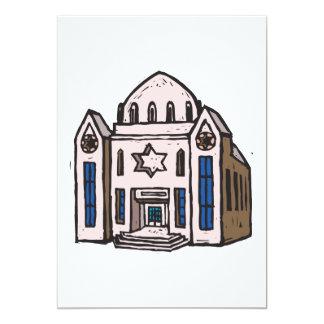 Sinagoga Invitación 12,7 X 17,8 Cm