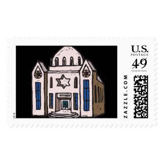 Sinagoga Sellos Postales