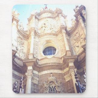 Sinagogue blanco Valencia España Tapete De Raton