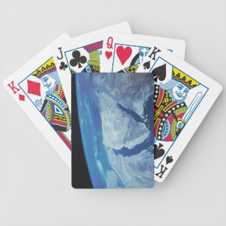 Sinai Peninsula from Space Bicycle Playing Cards