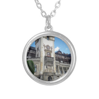Sinaia 1 silver plated necklace