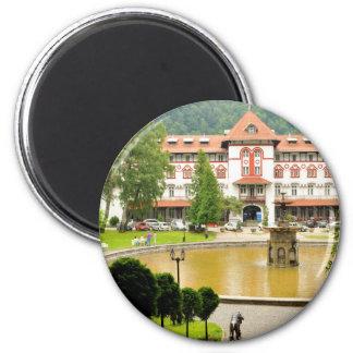 Sinaia, Romania 2 Inch Round Magnet