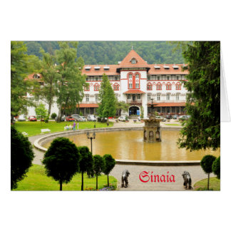 Sinaia, Romania Card