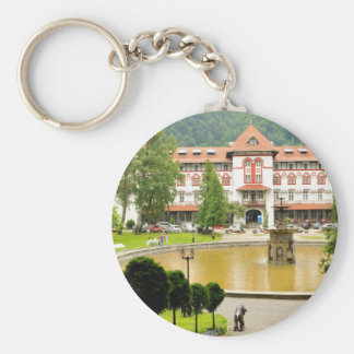 Sinaia, Romania Keychain