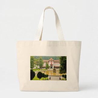 Sinaia, Romania Large Tote Bag