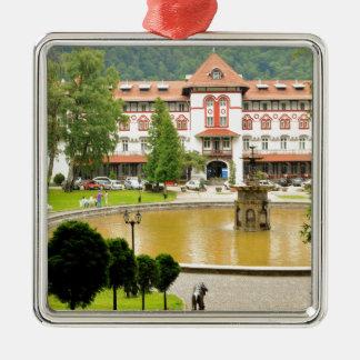 Sinaia, Romania Metal Ornament