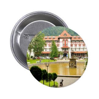 Sinaia, Romania Pinback Button