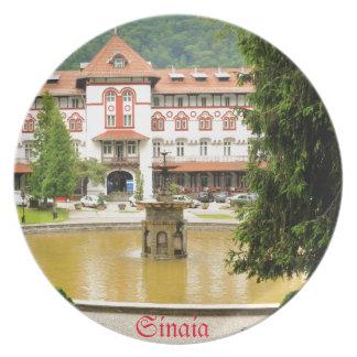 Sinaia, Romania Plate