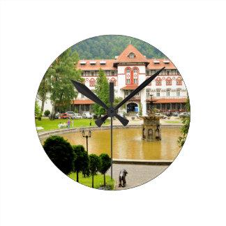 Sinaia, Romania Round Clock