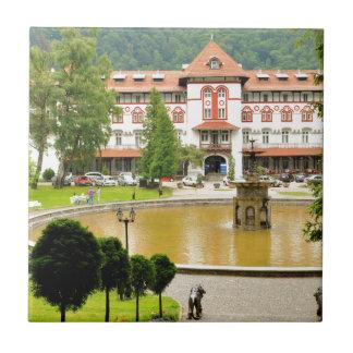Sinaia, Rumania Azulejo Cuadrado Pequeño