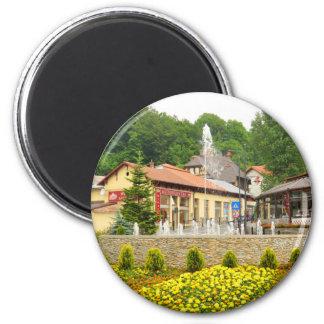 Sinaia, Rumania Imán Redondo 5 Cm