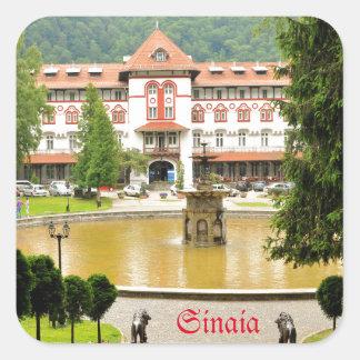 Sinaia, Rumania Pegatina Cuadrada