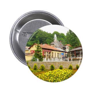Sinaia, Rumania Pin Redondo De 2 Pulgadas