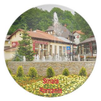 Sinaia, Rumania Platos De Comidas