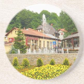 Sinaia, Rumania Posavasos Manualidades