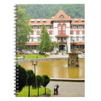 Sinaia, Rumania Spiral Notebook