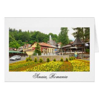 Sinaia, Rumania Tarjeta De Felicitación