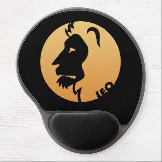 Sinal do zodíaco de Leo Mousepads De Gel