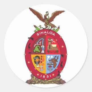Sinaloa, Mexico Classic Round Sticker
