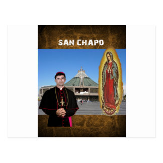 SINALOA SAN CHAPO ORIGINALS PRODUCTS BASILICA POSTCARD