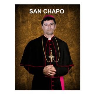SINALOA SAN CHAPO ORIGINALS PRODUCTS POSTCARD