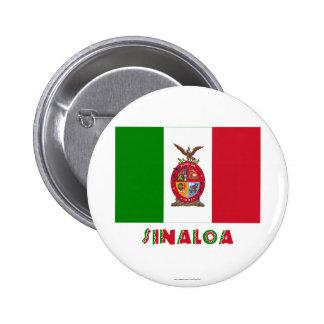 Sinaloa Unofficial Flag Pins