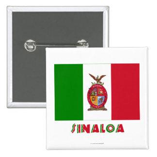 Sinaloa Unofficial Flag Buttons
