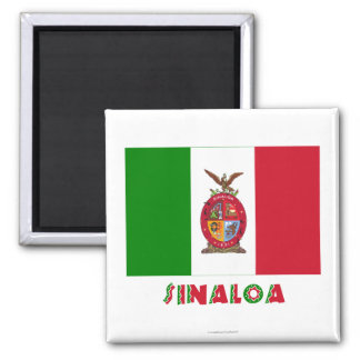 Sinaloa Unofficial Flag Magnets
