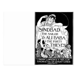 Sinbad the Sailor Cover Post Cards