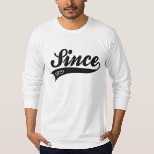 since1979 - birthday T-Shirt