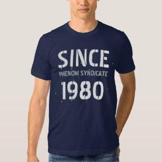 SINCE1980, PHENOM SYNDICATE T-SHIRT