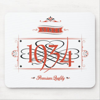 Since 1934 (Red&Black) Mouse Pad