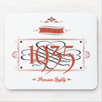 Since 1935 (Red&Black) Mouse Pad