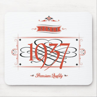 Since 1937 (Red&Black) Mouse Pad