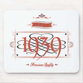 Since 1939 (Red&Black) Mouse Pad