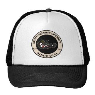 Since 1941 Tan with black camo gator Trucker Hat