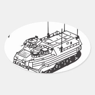 Since 1941 Track II logo Oval Sticker