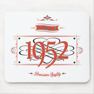 Since 1952 (Red&Black) Mouse Pad