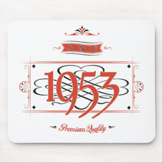 Since 1953 (Red&Black) Mouse Pad