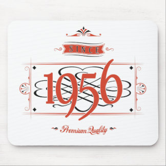 Since 1956 (Red&Black) Mouse Pad