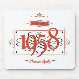 Since 1958 (Red&Black) Mouse Pad